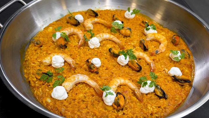 Receta arroz de marisco