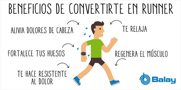 Beneficios de ser runner