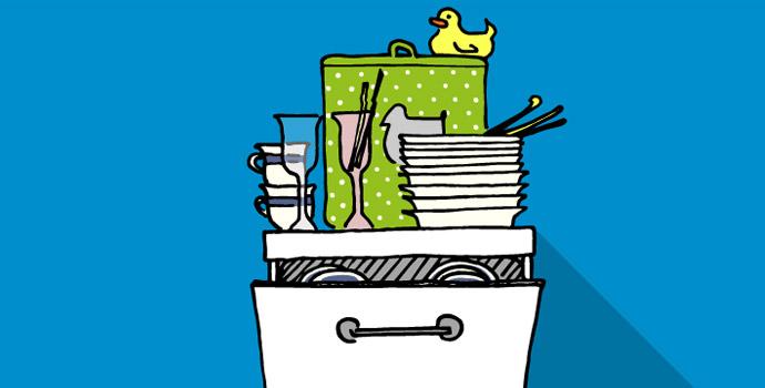 Poner el lavavajillas en 5 minutos