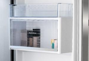 Cajón multibox de los frigoríficos americanos