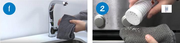 Cómo limpiar un horno paso 1 y 2