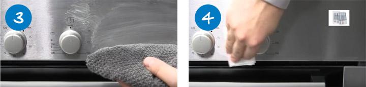Cómo limpiar un horno pasos 3 y 4