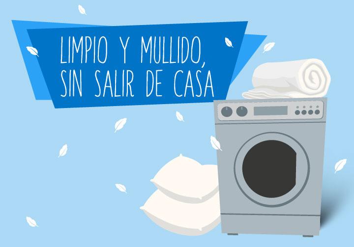 como lavar almohadas