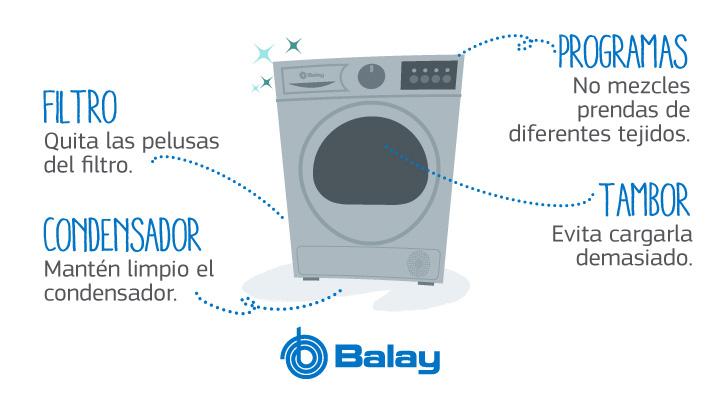 claves secadoras Balay