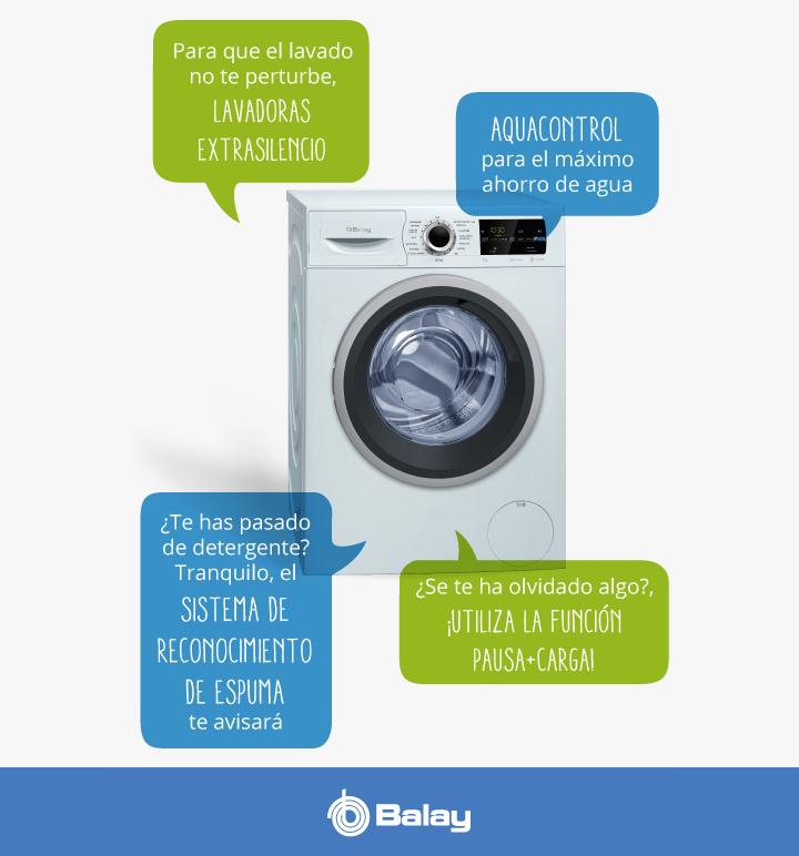 Como son las lavadoras Balay