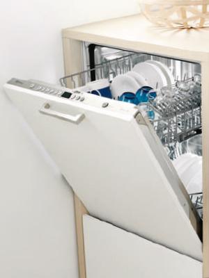 Instalación en alto de lavavajillas Balay