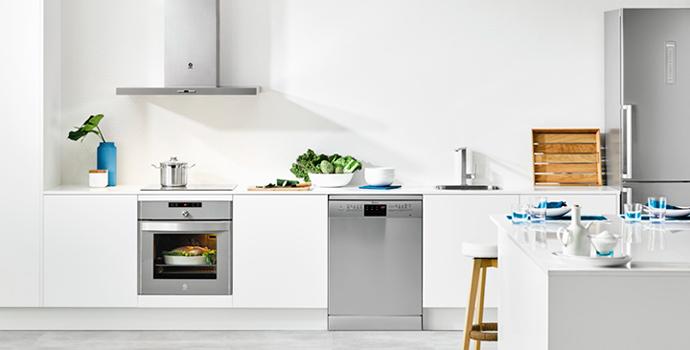 Cocina con electrodomésticos Balay