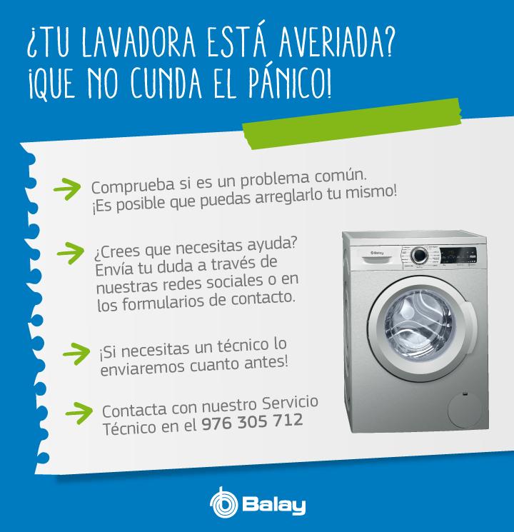 Soluciones para la reparación de lavadoras