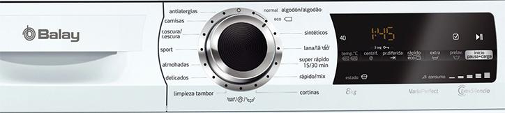 controles secadora Balay