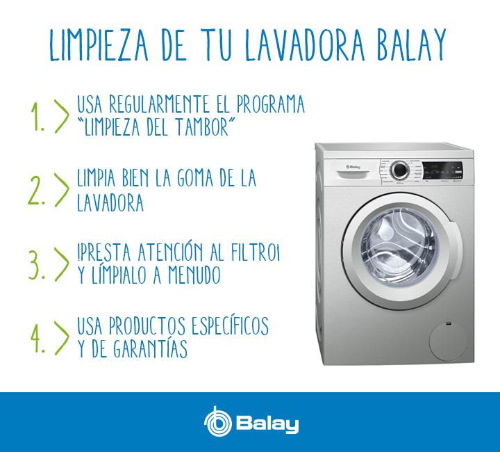 Pasos para una limpieza perfecta de tu lavadora