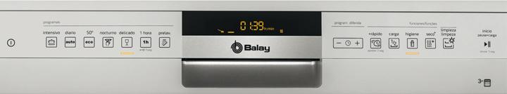 funciones y programas de los lavavajillas Balay