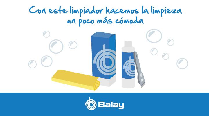 Limpiador para placas de inducción Balay