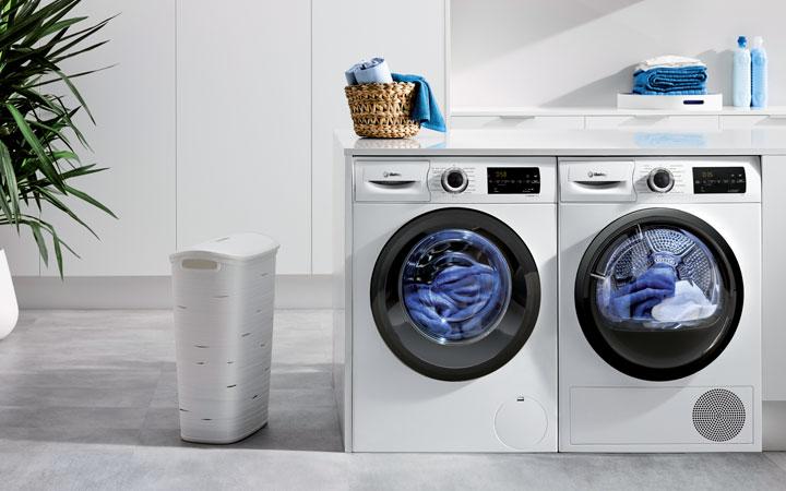 Pareja lavadora secadora Balay