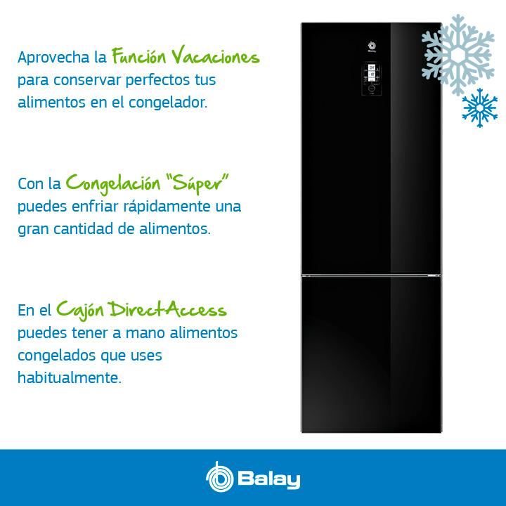 Ventajas congelador Balay