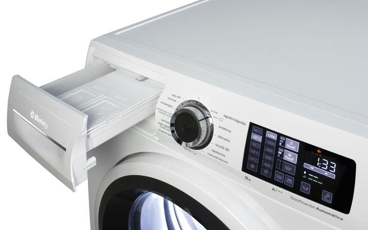 Cajetín detergente y suavizante lavadoras Balay