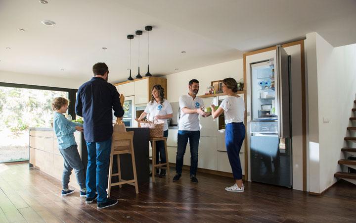 Cocinas minimalistas con electrodomésticos Balay