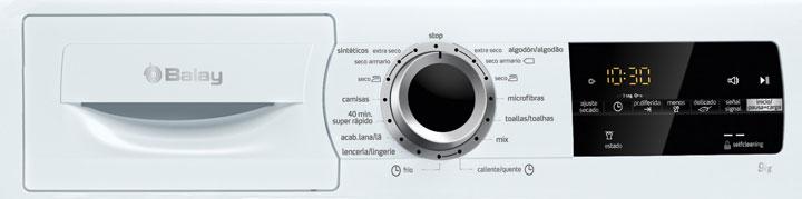Frontal de una secadora