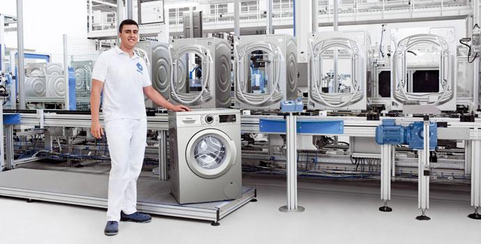 Instalar una lavadora y secadora en columna