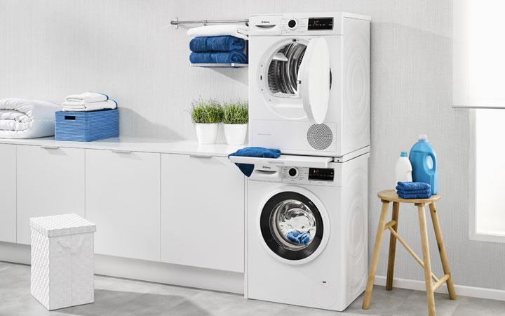 Poner secadora encima lavadora