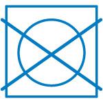 Símbolo no meter en secadora