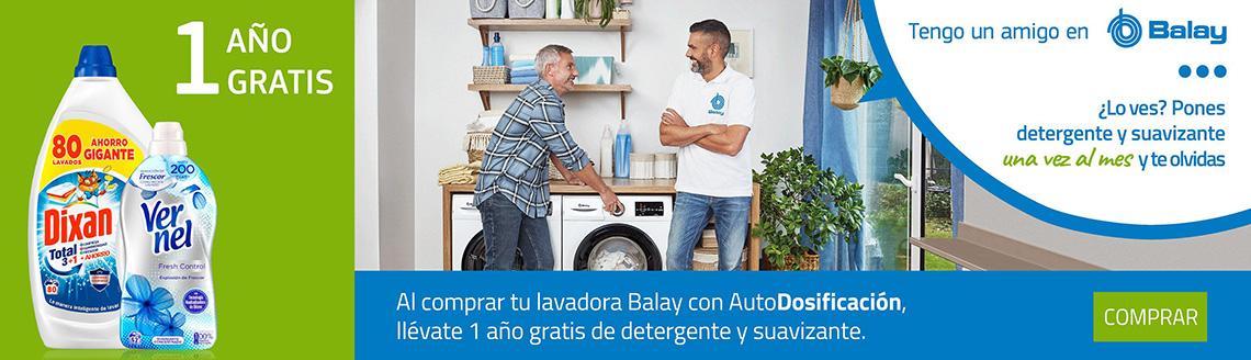 Promoción lavadoras AutoDosificación
