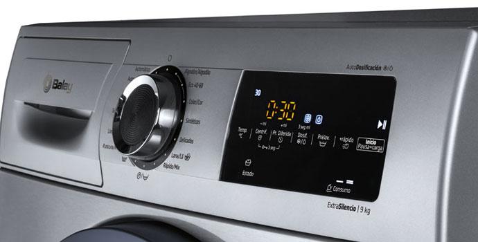 Display de una lavadora Balay