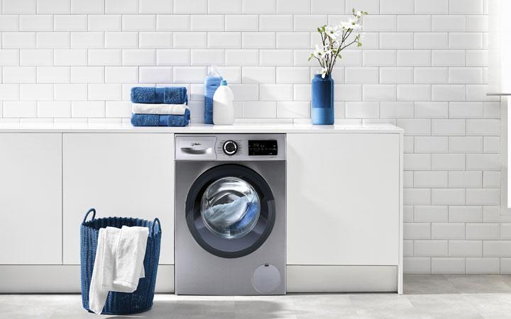 Cajetín de la lavadora