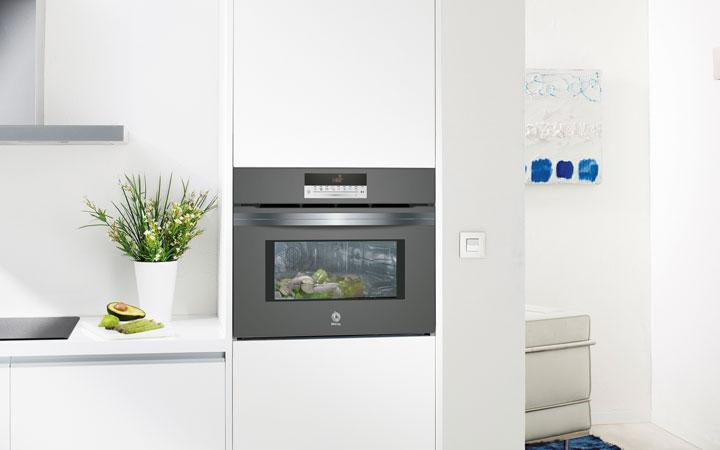 Las medidas de un horno compacto