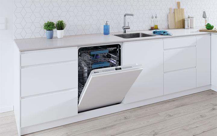 Equipamiento del lavavajillas