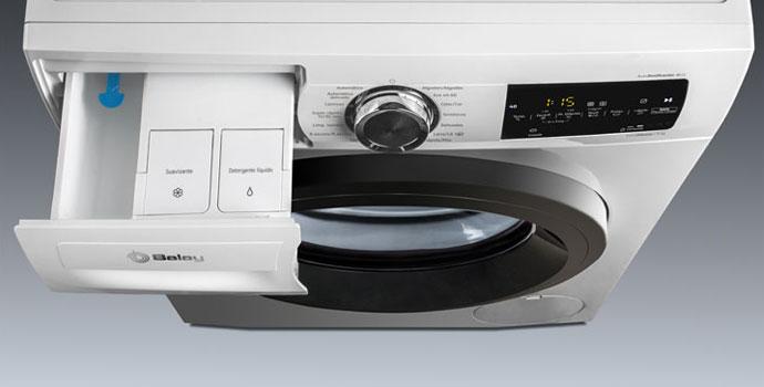 Cual es el simbolo del suavizante en la lavadora